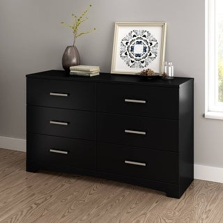 Link to South Shore Contemporary Gramercy 6-Drawer Double Dresser Similar Items in Dressers & Chests