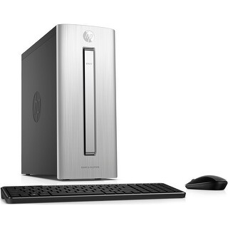 HP Envy 750-514, Intel Core i5-7400, 12GB, 128GB SSD+1TB HDD, Desktop PC - Silver