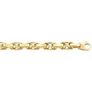 Men's 14k Gold 32 inch link chain