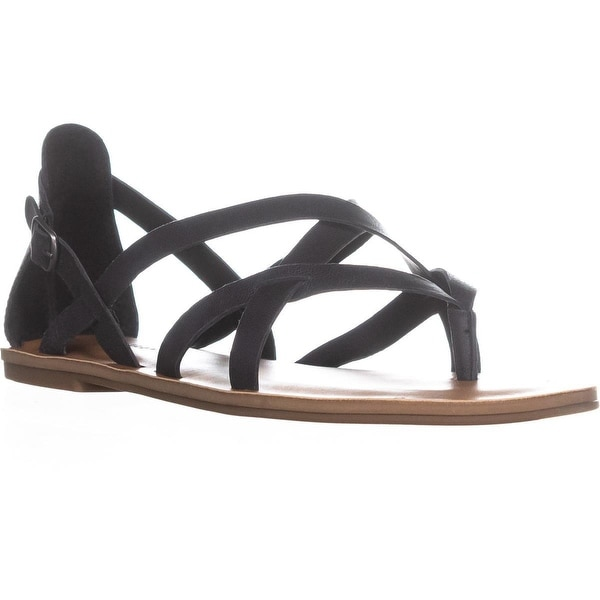 Lucky Brand Ainsley Strappy Sandals, Black