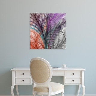 Easy Art Prints James Burghardt's 'Sea Fern II' Premium Canvas Art