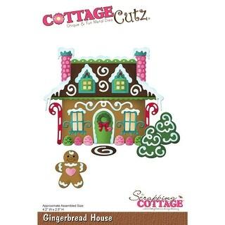 CottageCutz Die-Gingerbread House