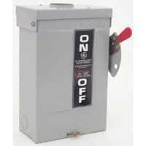 GE TG3221R Fusible Outdoor Safety Switch, 30 Amp