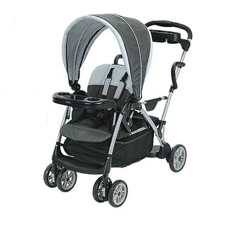 Graco Room For 2 Stand and Ride Stroller Click Connect Glacier Stand and Ride Stroller