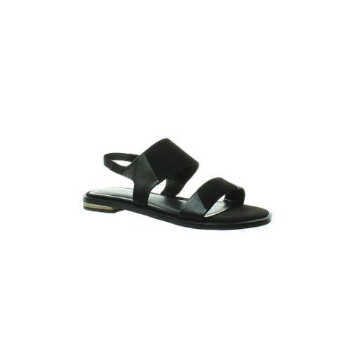 Kelsi Dagger Womens Rogan Black Sandals Size 5.5