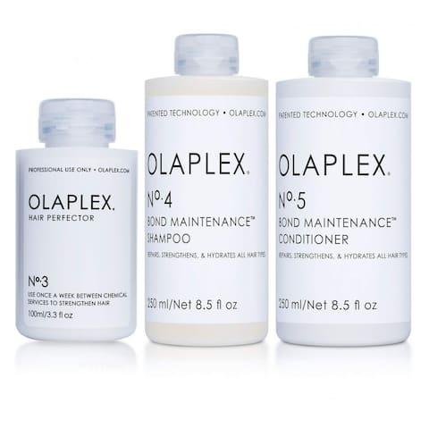 Olaplex Bond Maintenance Shampoo & Conditioner and Hair Perfector (No. 3 4 5)