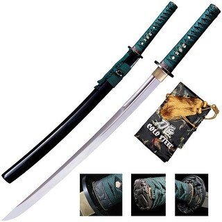Coldsteel 88dw cold steel wakizashi sword (dragonfly) - 31-/1/2 overall length
