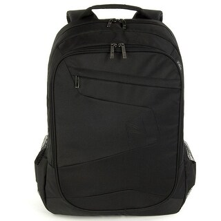 Tucano Lato Water Resistant Spacious Notebook and Tablet Backpack with Multi Pockets for Laptops up to 17.3""