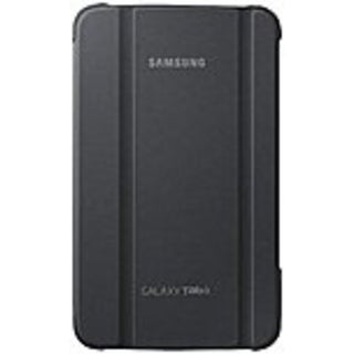 "Samsung Carrying Case (Book Fold) for 7"" Tablet - Gray - Synthetic Leather"