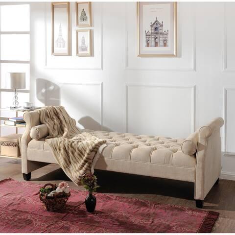 Gracewood Hollow Harper Tufted Upholstered Sofa Bed