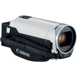 Canon VIXIA HF R800 Camcorder (White) with 16GB Essential Bundle
