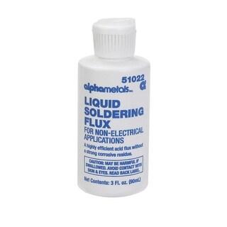 Alpha 51022 Non Electrical Liquid Acid Soldering Flux, 3 Oz