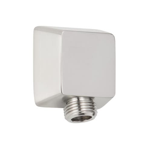 Miseno MNOSWS200 Square Wall Supply Elbow - Brushed Nickel