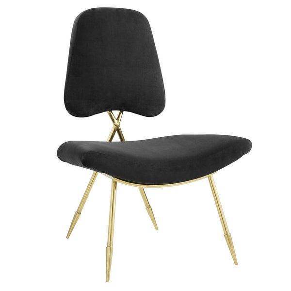Performance Velvet Lounge Chair. Opens flyout.