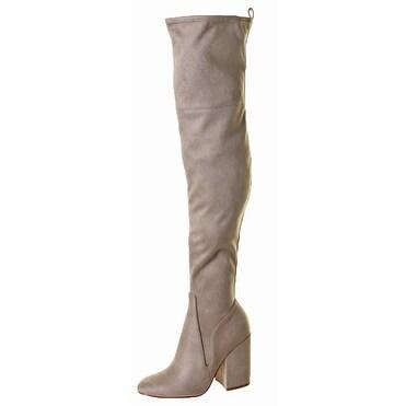 Kendall + Kylie Bali Women's Faux Suede Heel Boots