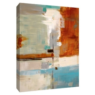 """PTM Images 9-148476  PTM Canvas Collection 10"""" x 8"""" - """"Quad Fusion II"""" Giclee Abstract Art Print on Canvas"""