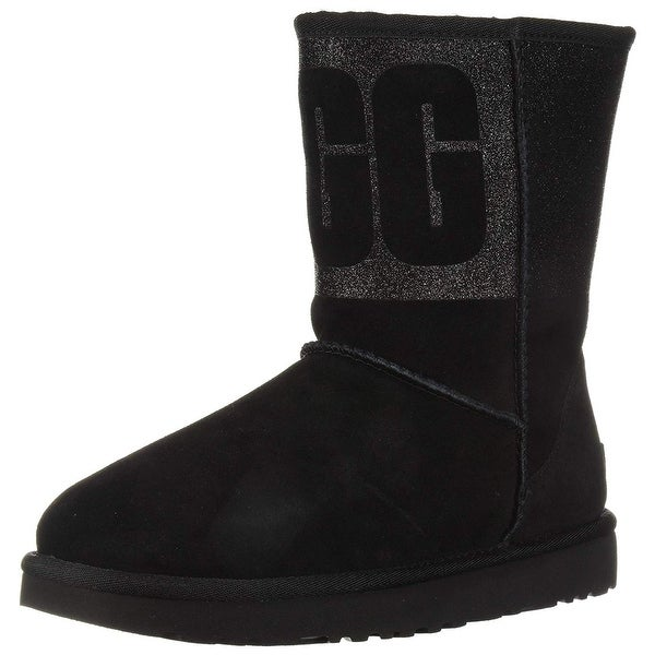 8476fd69b6794 Shop UGG Women s W Classic Short Sparkle Fashion Boot - Free Shipping Today  - Overstock - 27792284