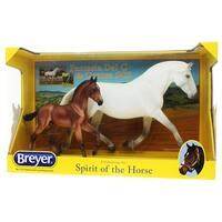 Breyer 1:9 Traditional Series Model Mare & Foal: Fantasia Del C & Gozosa - multi