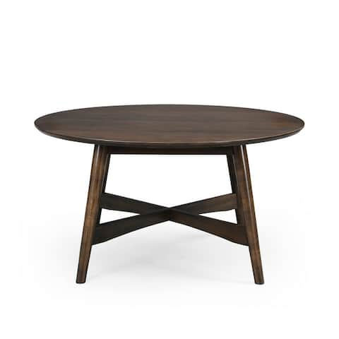Behrens Indoor Wood Coffee Table by Christopher Knight Home