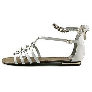 Marc Fisher Ellie Women Open Toe Leather Gladiator Sandal