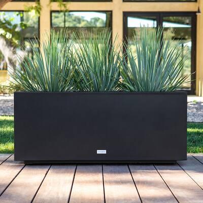 Metallic Series Long Box Planter