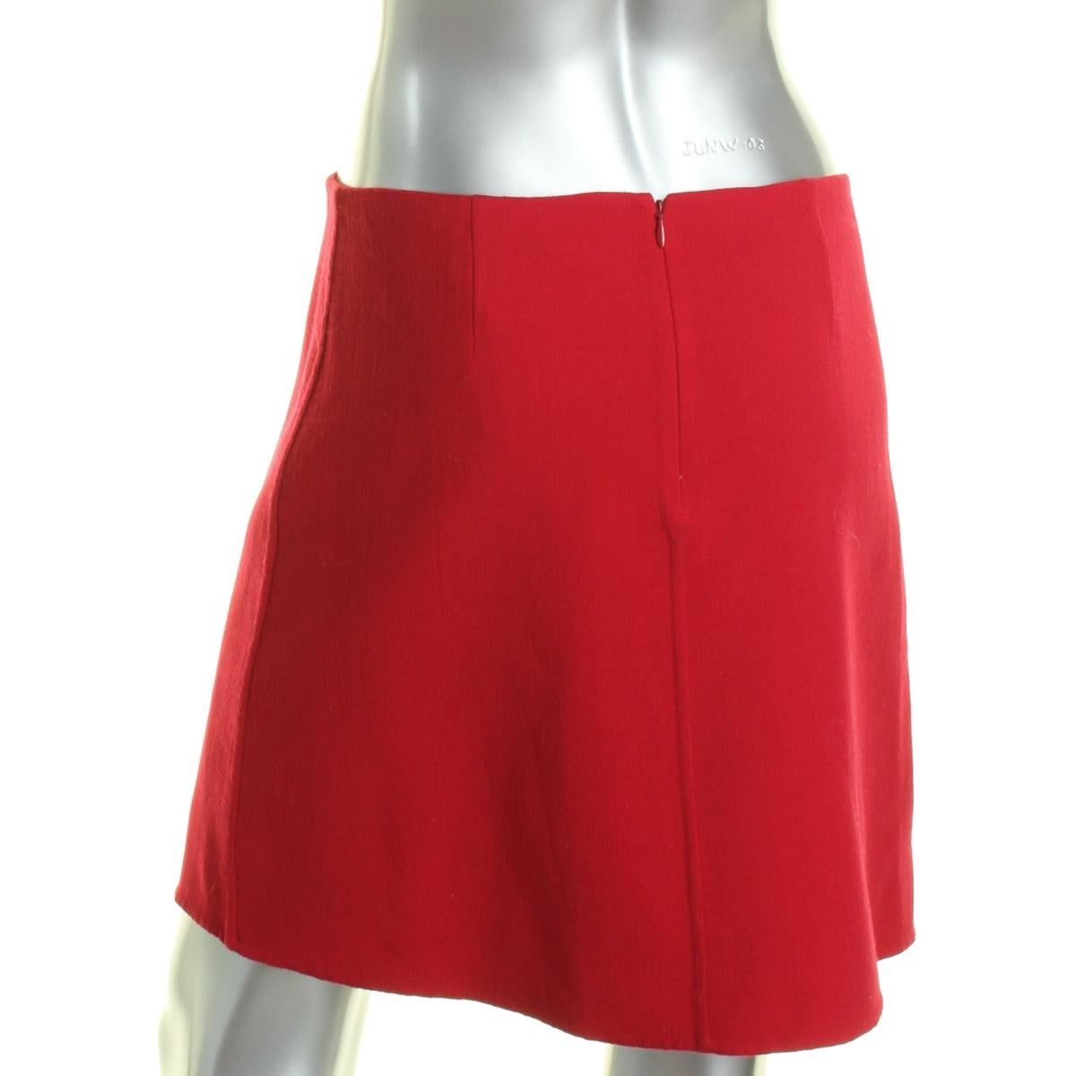 27be94ea98 Shop Theory Womens Irenah Saxton A-Line Skirt Virgin Wool Above Knee - Free  Shipping Today - Overstock.com - 17084388