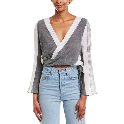 Elan Crop Blouse