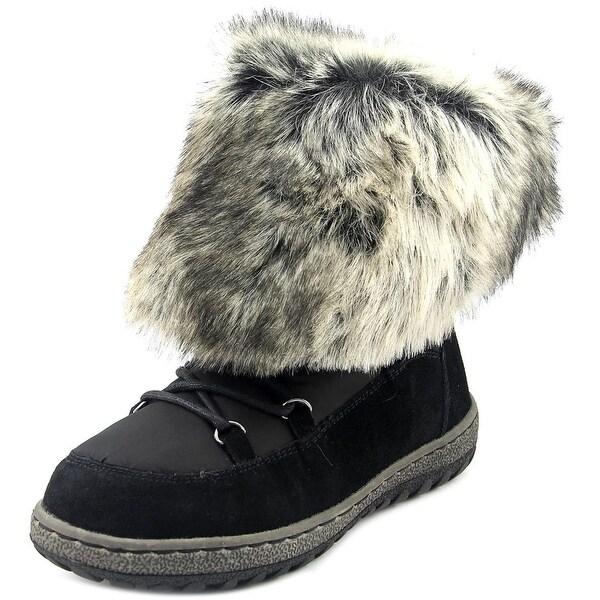 Wanderlust Liv Women Round Toe Suede Snow Boot
