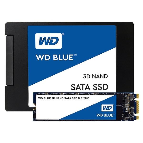 Western Digital Ssd Wds100t2b0b 1Tb M.2 2280 Sata Iii 6Gb/S Blue 3D Nand Retail