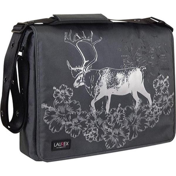 Laurex 17 Laptop Messenger Bag Gray Elk Us One Size