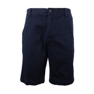 IZOD Men's Saltwater Flat-Front Shorts