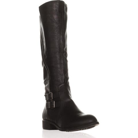 Style & Co. Womens Milah Almond Toe Knee High Cold Weather Boots