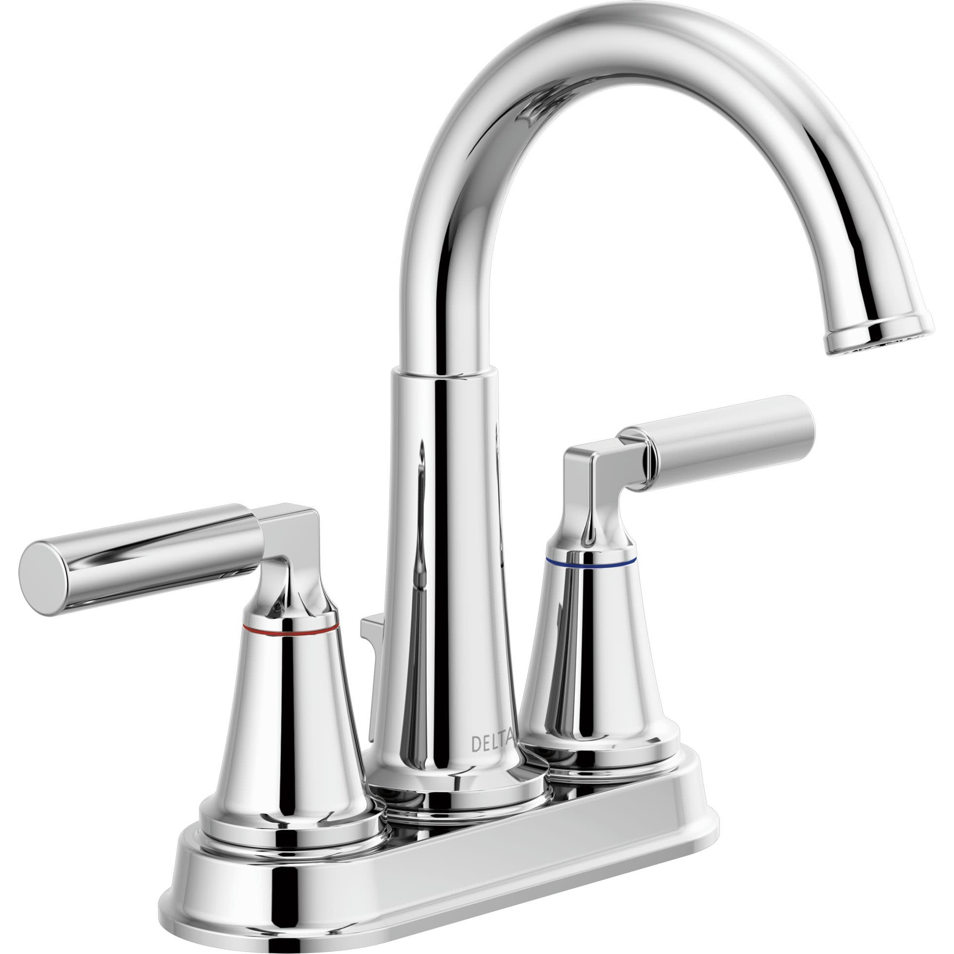 Shop Black Friday Deals On Delta 2548lf Mpu Bowery 1 2 Gpm Centerset Bathroom Faucet With Pop Up Overstock 29567710