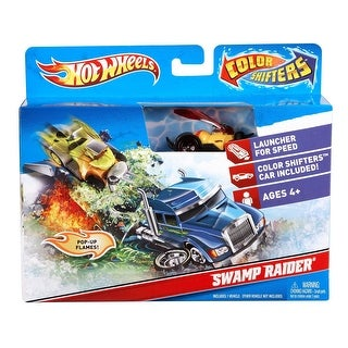 Hot Wheels Color Shifters Swamp Raiders Playset