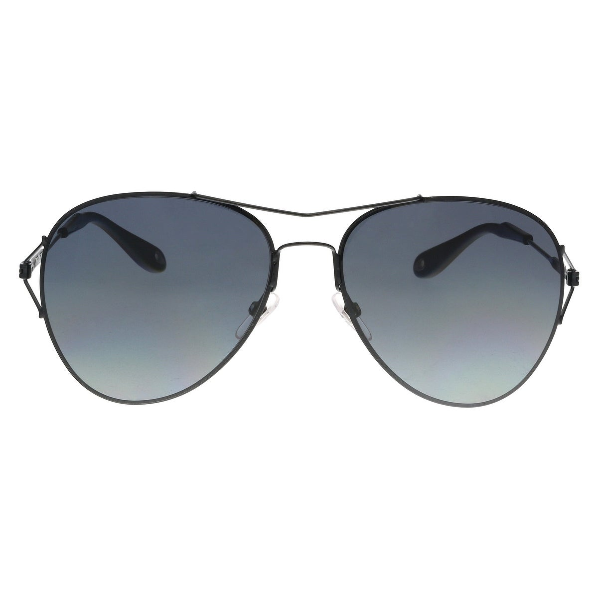 bcc3fba3e Shop Givenchy GV7005/S 006 HD Black Aviator Sunglasses - No Size - Free  Shipping Today - Overstock - 23600445