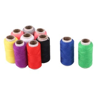 Tailor Polyester Handicraft DIY T-shirt Dress Sewing Thread Spool Reel 10 Pcs|https://ak1.ostkcdn.com/images/products/is/images/direct/5ce8761cac86caf950690874fea090516e23d410/Tailor-Polyester-Handicraft-DIY-T-shirt-Dress-Sewing-Thread-Spool-Reel-10-Pcs.jpg?impolicy=medium