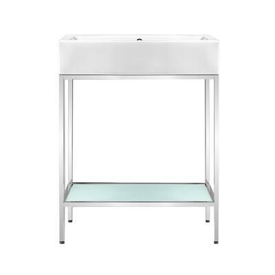 Pierre 24 Single Freestanding Open Shelf Bathroom Vanity