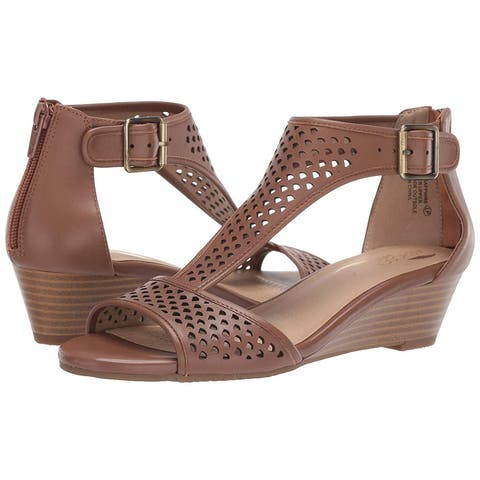 Aerosoles Womens Sapphire Open Toe Casual Ankle Strap Sandals