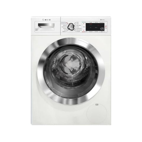 Bosch WAW285H2U 24 Inch Wide 2.2 Cu. Ft. Front Loading Washer with Speed Perfect - White
