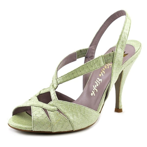 Ernesto Esposito 121 Women Green Pumps