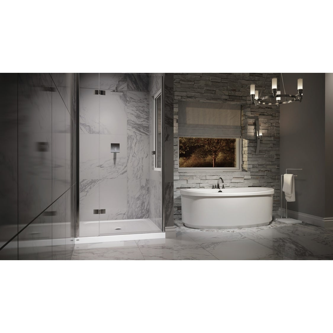 Jacuzzi Mx838 Mincio Shower Trim Package With Rain Shower Head With Overstock 17003598