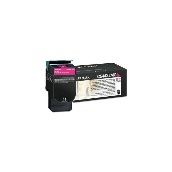Lexmark Extra High Yield Toner Cartridge - Magenta Toner Cartridge