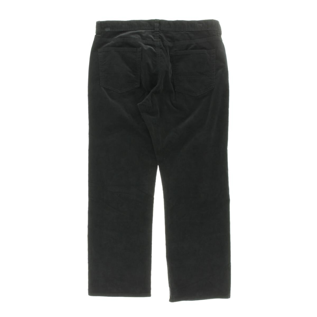 Kirkland Signature Men/'s 5 Pocket Corduroy Pants Black