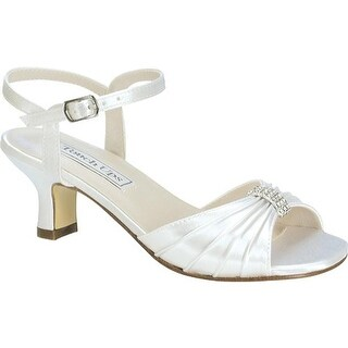 Touch Ups Girls' Talia White Satin
