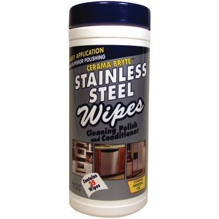 Cerama Bryte GVI48635M Cerama Bryte Stainless Steel Cleaning Polish - Wipes