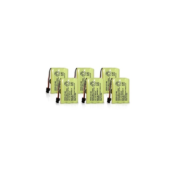 Replacement Battery for Uniden TRU9380 / TCX930 Phone Models (6 Pack)