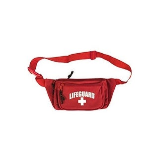 Officially Licensed LIFEGUARD Hip Fanny Waist Pack with Adjustable Strap Clip