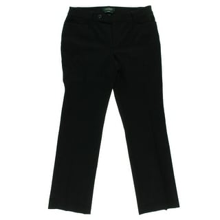 Lauren Ralph Lauren Womens Petites Adelle Dress Pants Ponte Slim Fit