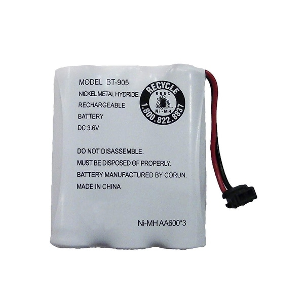 Replacement Battery For Uniden EXI4246 Cordless Phones - BT905 (600mAh, 3.6V, NiCD)