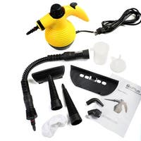 Costway Multifunction Portable Steamer Household Steam Cleaner 1050W W/Attachments - YELLOW